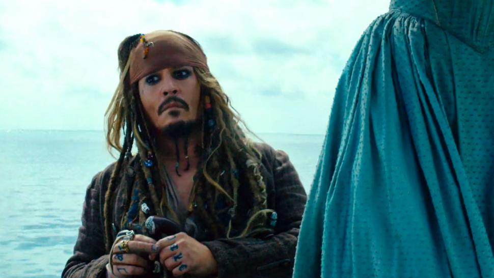 johnny depp can t find his pants in action packed pirates of the