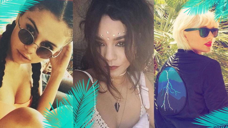 20a2b00c587d63 Coachella 2017 Fashion and Beauty Trends: Sheer and Sporty Pieces, Glitter  Roots, Braids and Bold Lips