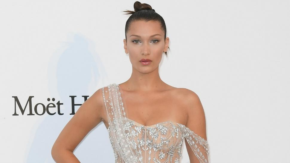Bella Hadid Wears Another Naked Dress At Cannes See The Sheer Look