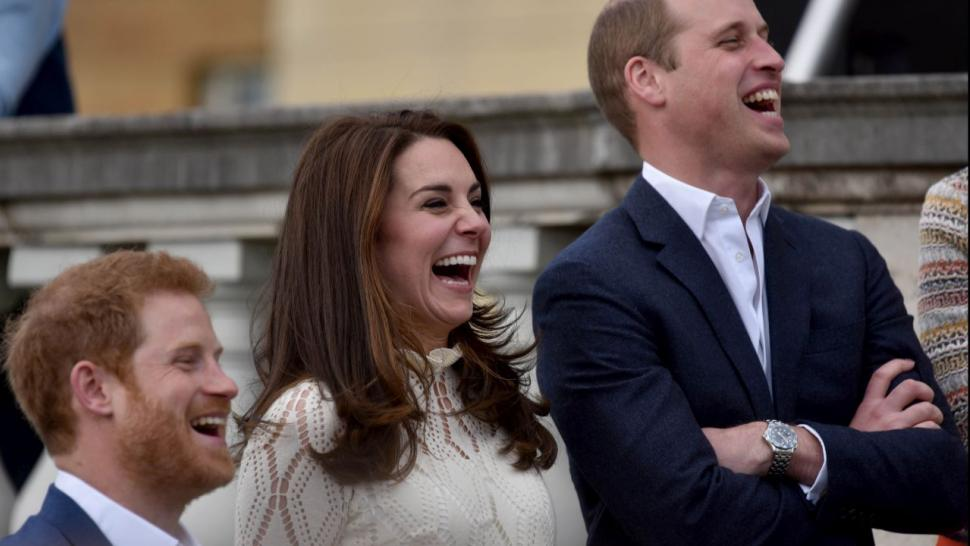 Prince William Prince Harry And Kate Middleton Host A