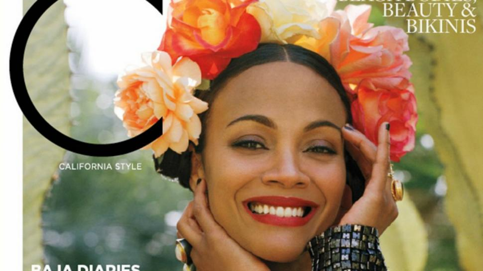 Zoe Saldana Opens Up About Motherhood and Keeping Up With ...