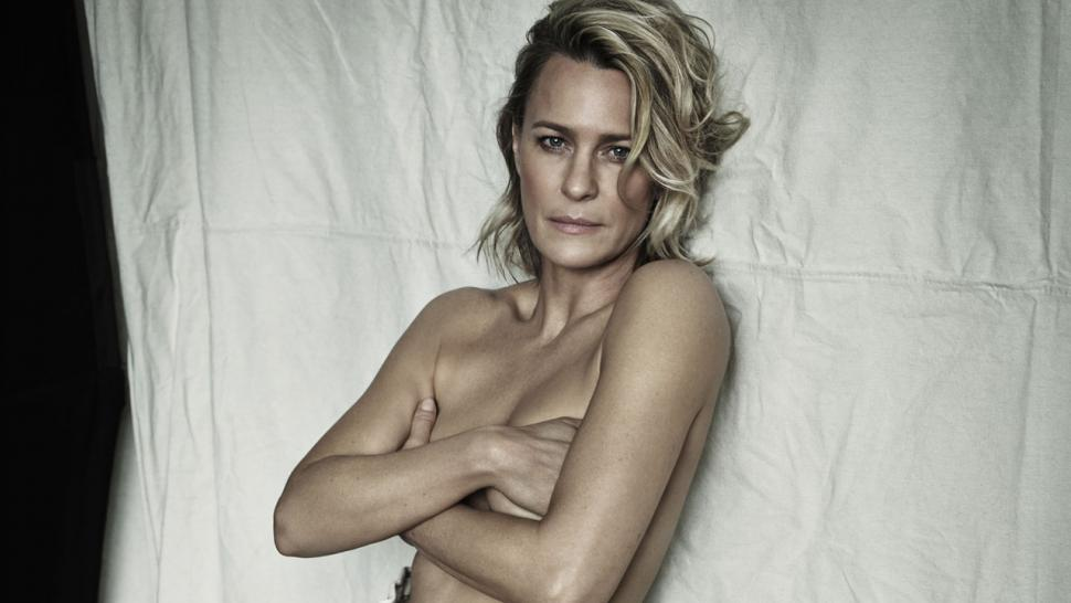 Robin Wright Poses Topless In Stunning Photo Shoot Shares Her Wonder Woman Workout And High Calorie Diet