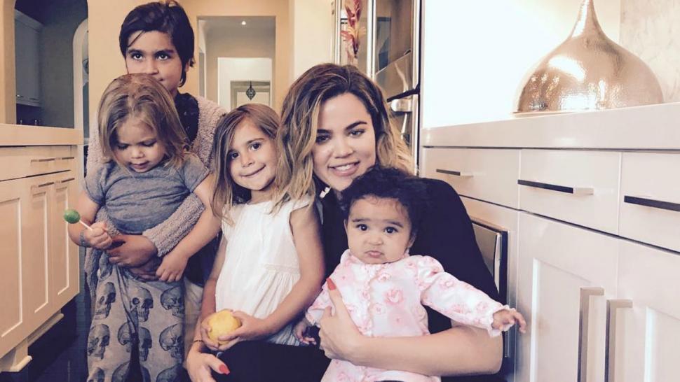 khloe kardashian shares sweet pic with her niece nephew squad