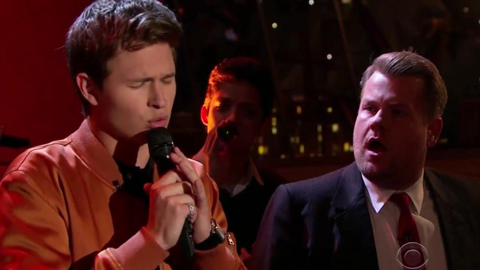 Watch Ansel Elgort Bring The House Down Singing Lionel