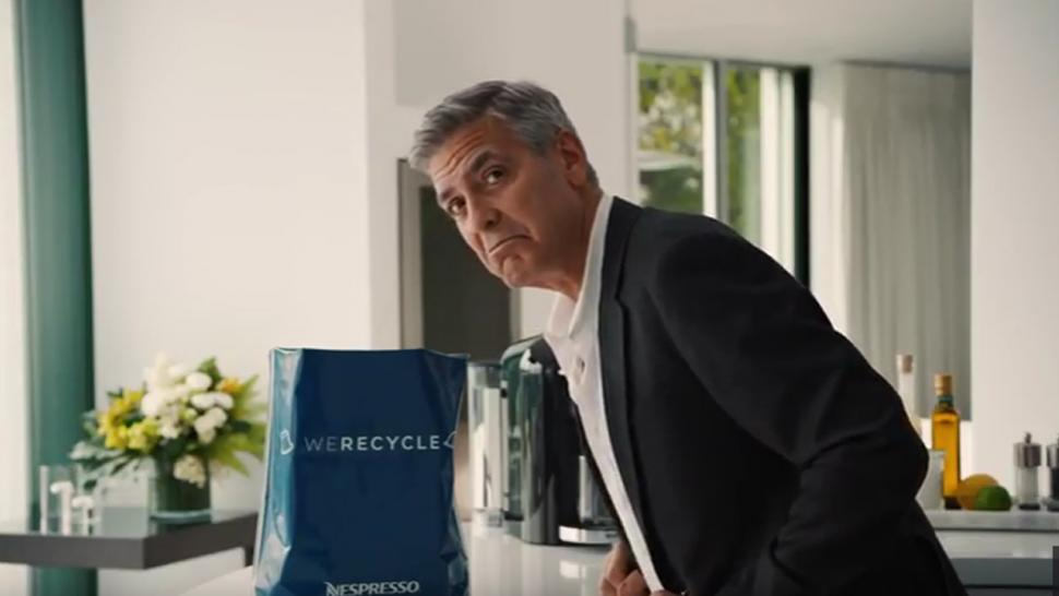 EXCLUSIVE George Clooney Preaches The Importance Of Recycling In New Nespresso Ad Watch