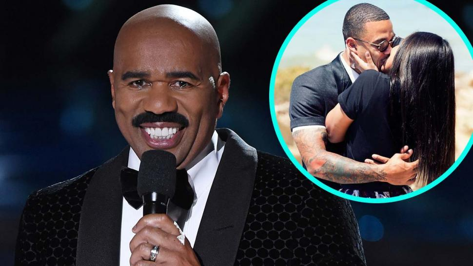 How Old Was Max Born >> Steve Harvey Celebrates His Youngest Daughter's Engagement: 'This Young Man Is a Good One ...