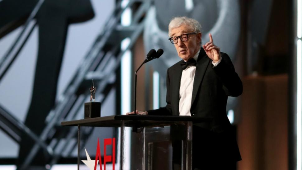 Woody Allen Makes Rare Public Appearance to Celebrate Diane