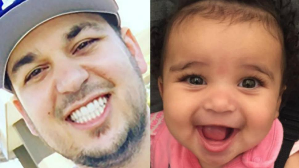 Rob Kardashian Shares Adorable New Pic of His Daughter ...