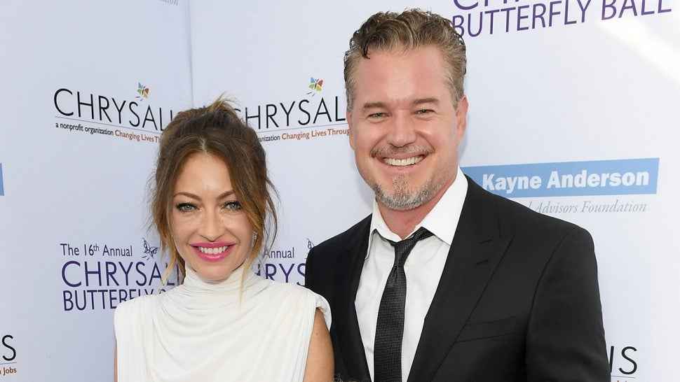 Eric Dane and Rebecca Gayheart split
