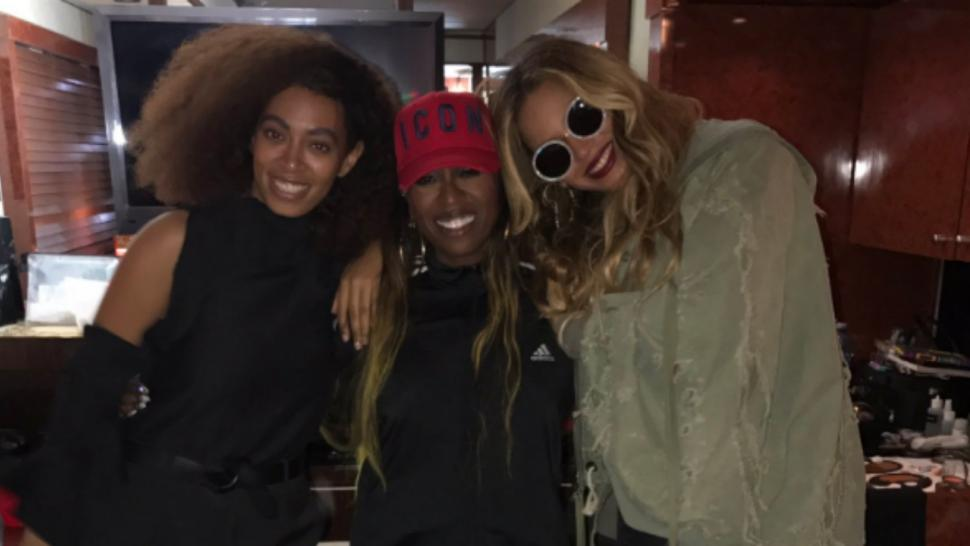 Beyonce Janet Jackson And Katy Perry Support Missy