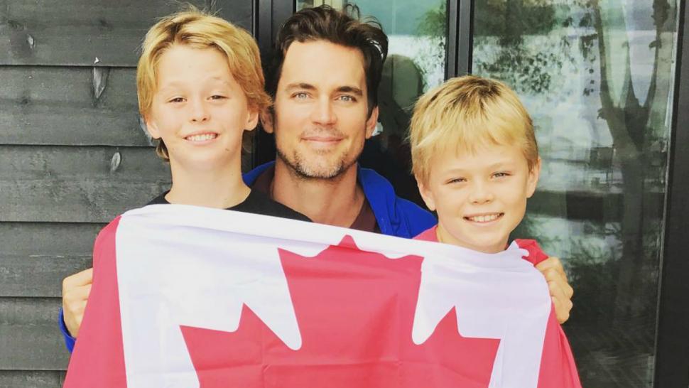 Matt Bomer Shares Rare Photo of Sons in Celebration of