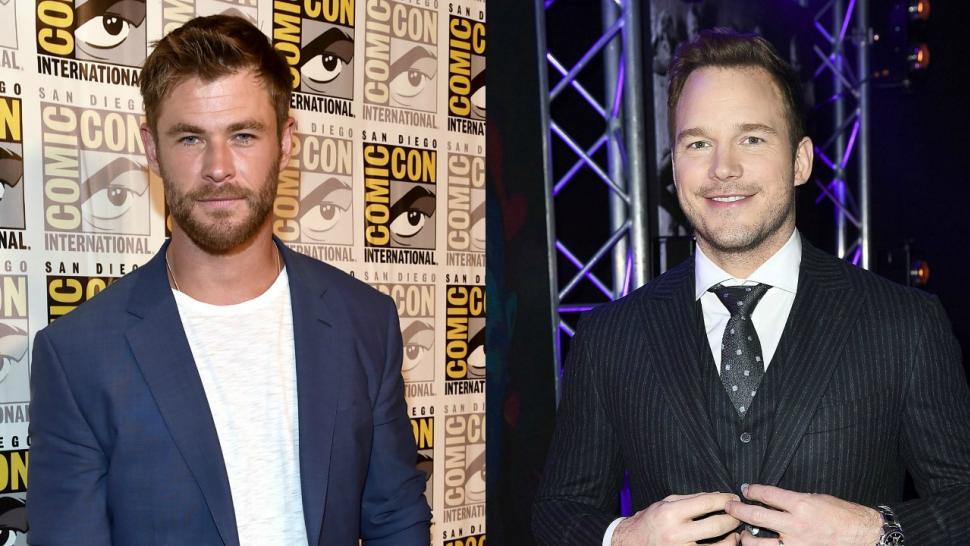 Chris Hemsworth Admits He Was Weirdly Shaken Meeting Chris Pratt