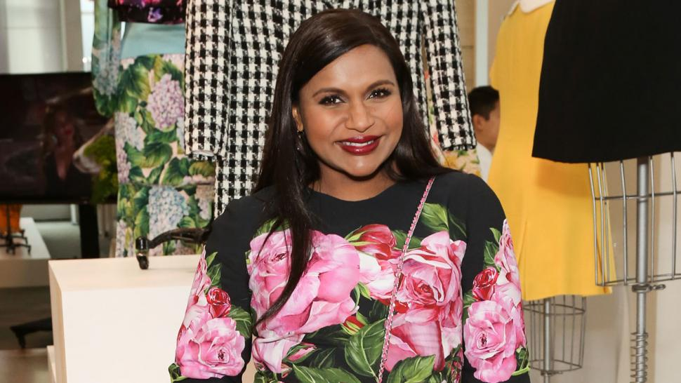 Mindy Kaling at The Mindy project event