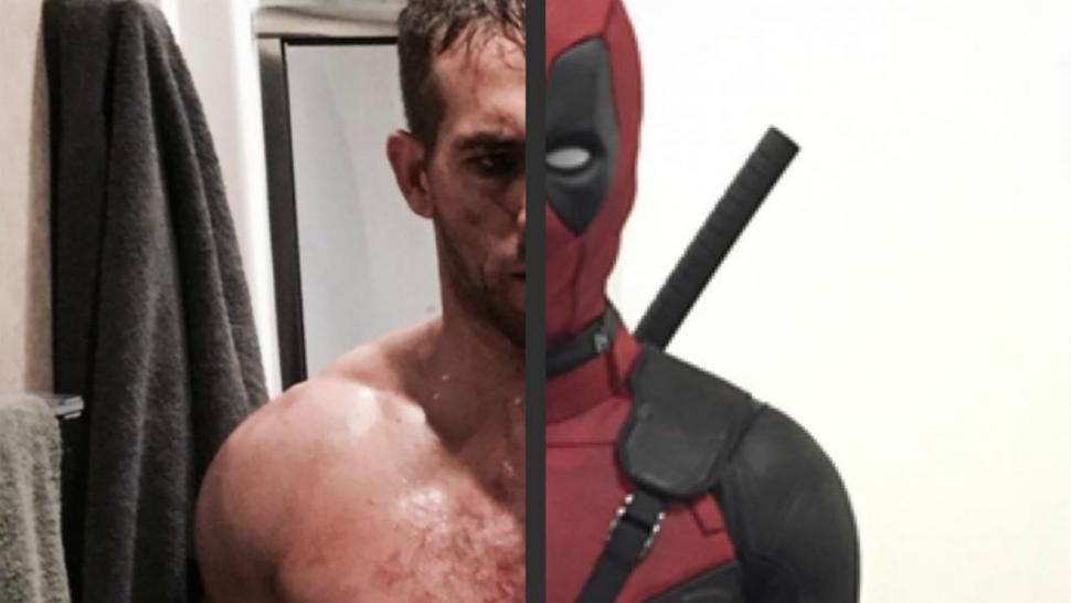 Ryan Reynolds Is Absolutely Ripped Under His 'Deadpool