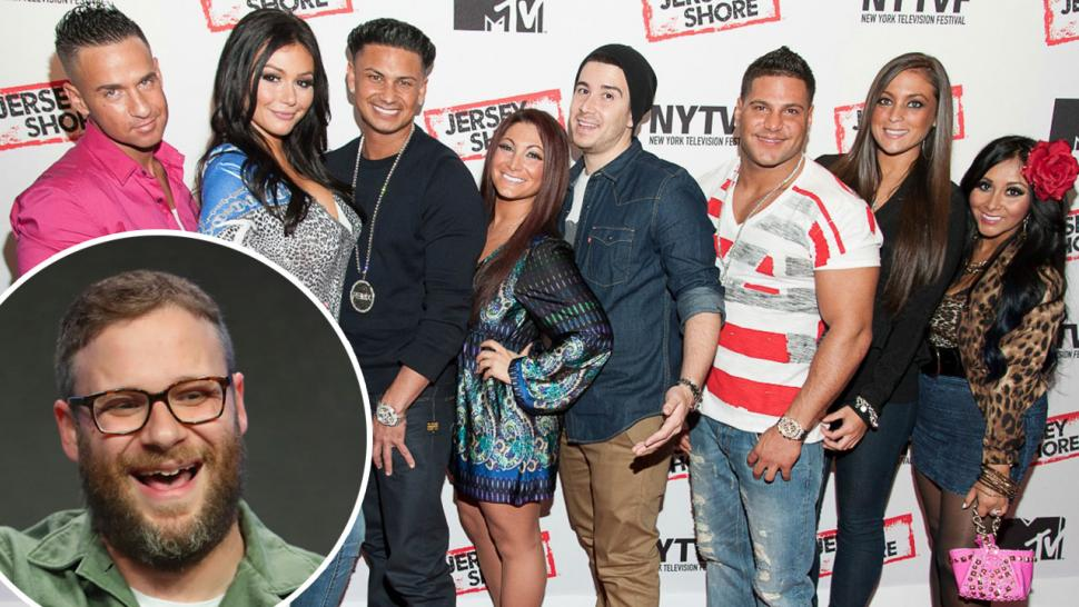 Seth Rogen Reveals a 'Jersey Shore' Catchphrase Came From