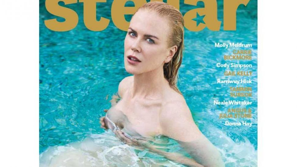 Nicole Kidman graces the cover of Stellar Magazine