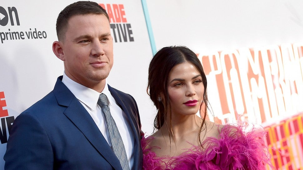Channing Tatum's proposal to Jenna Dewan Tatum
