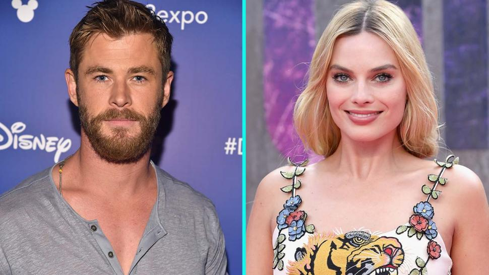 Chris Hemsworth and Margot Robbie