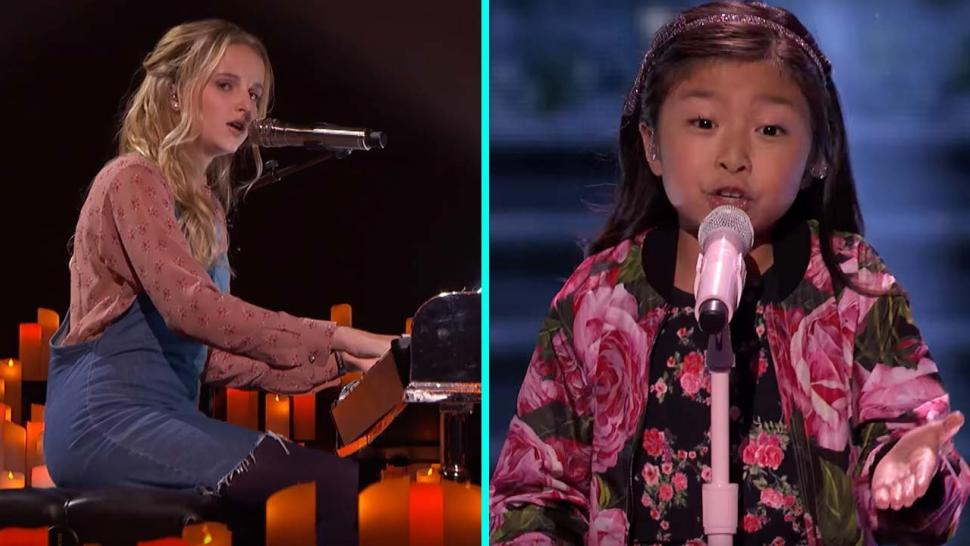 Evie Clair and Celine Tam on America's Got Talent