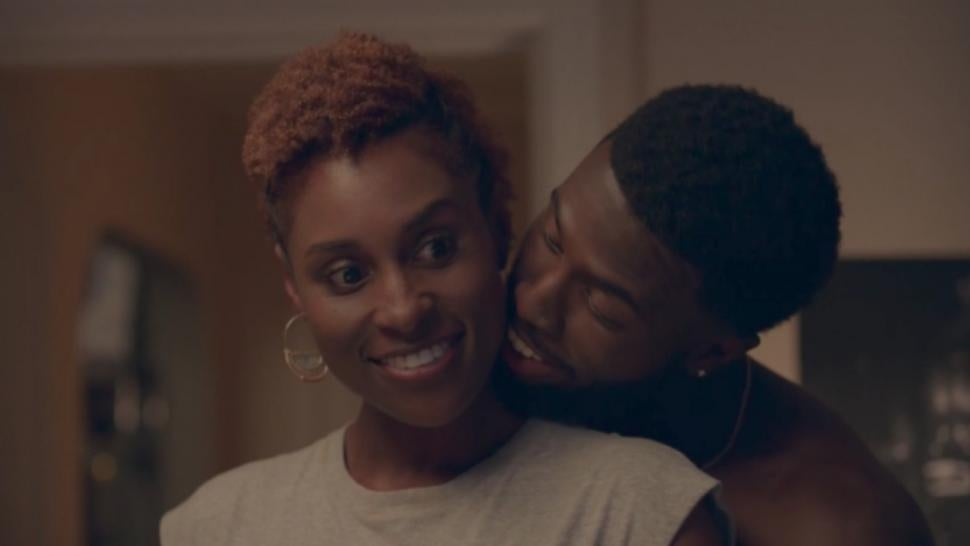 Insecure Season 2 Issa Cuddles Up To Daniel