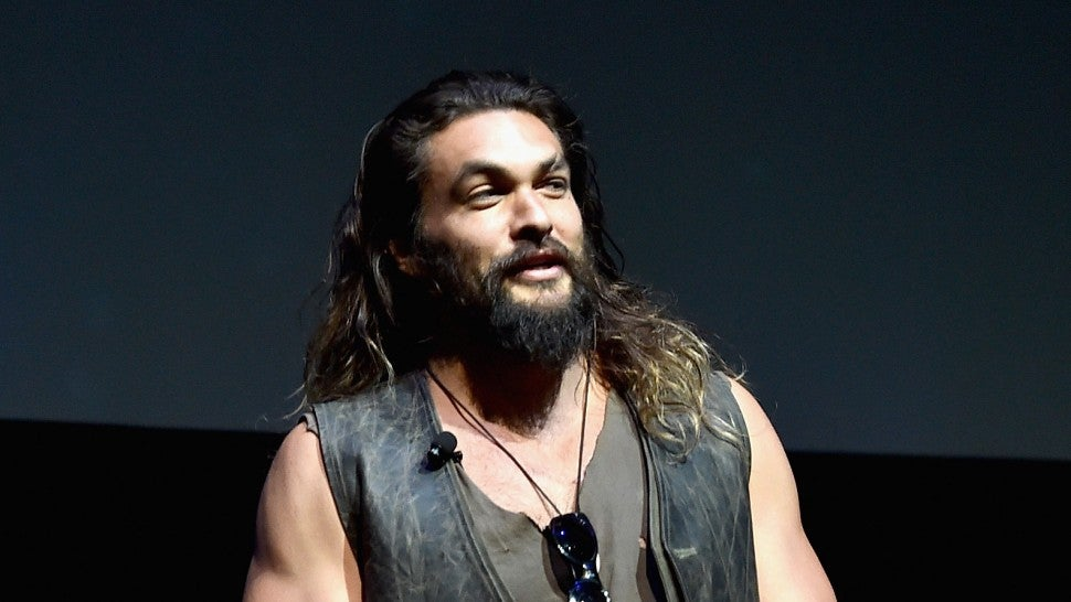 Jason Momoa Cinema Con Aquaman