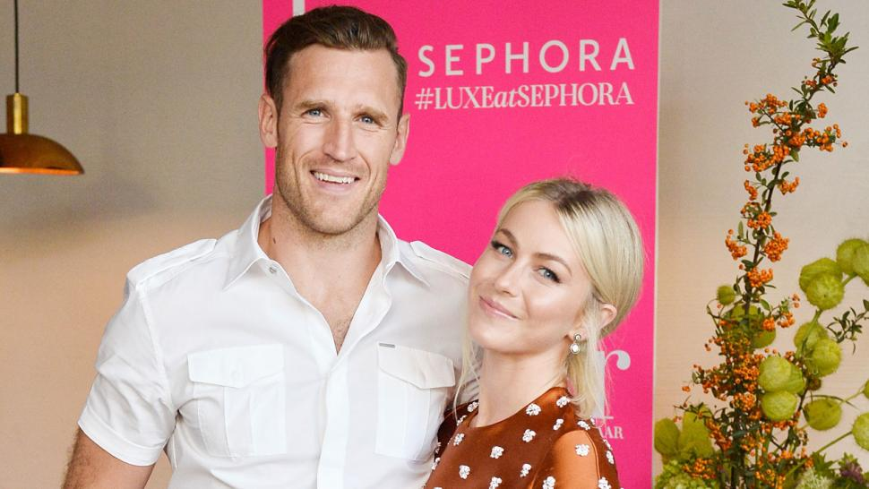 Julianne Hough and Brooks Laich make public appearance