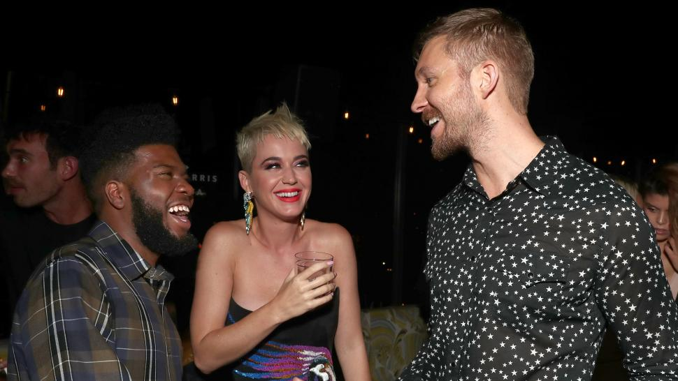 Khalid Katy Perry Calvin Harris VMA After Party