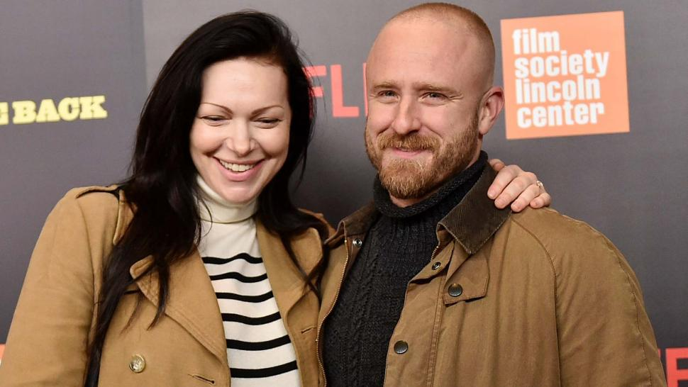 Laura Prepon and Ben Foster at the World Premiere of Five Came Back