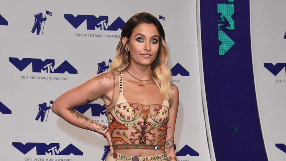 Paris Jackson attends the 2017 MTV Video Music Awards