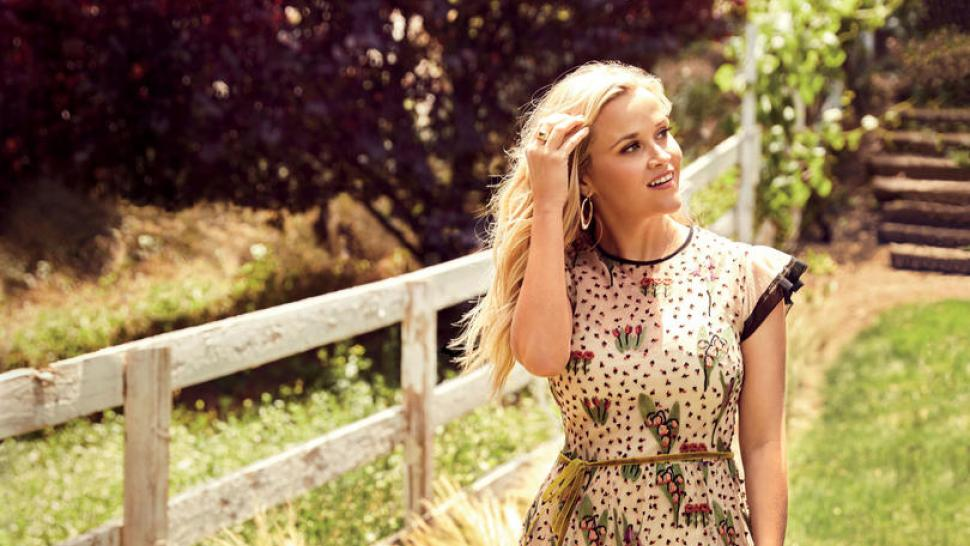 Reese Witherspoon Souther Living Photo Shoot