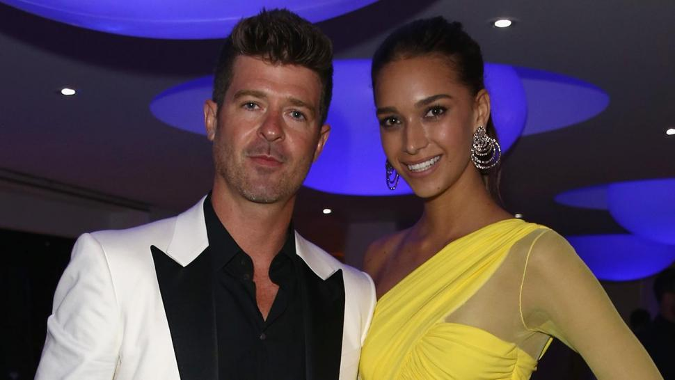 Robin Thicke & April Love Geary Expecting Baby #2 - See Their Announcement!