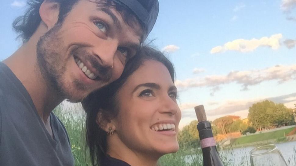 0591e4220 New Dad Ian Somerhalder Pens Sweet Note to 'Inspiring' Wife and 'Amazing Mom'  Nikki Reed