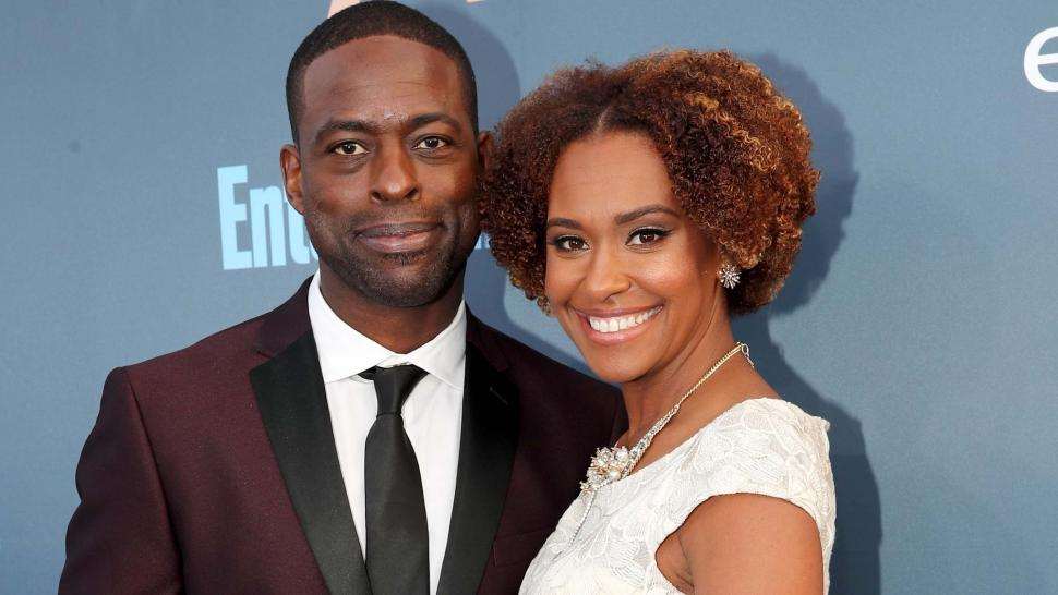 Sterling K. Brown and wife Ryan Michelle Bathe