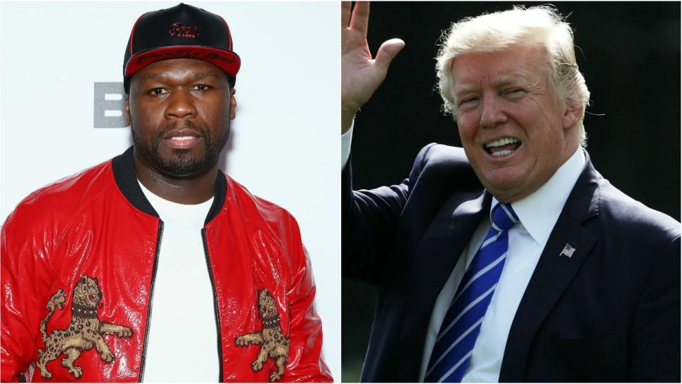 50 cent trump split