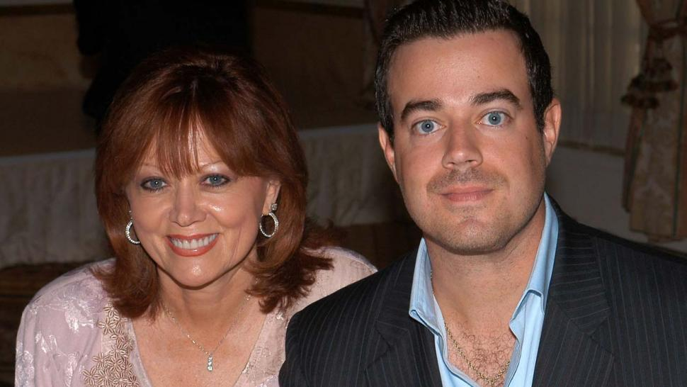 Carson Daly and mom Pattie Daly Caruso