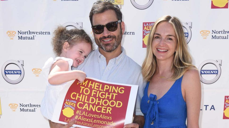 Jimmy Kimmel and his Family