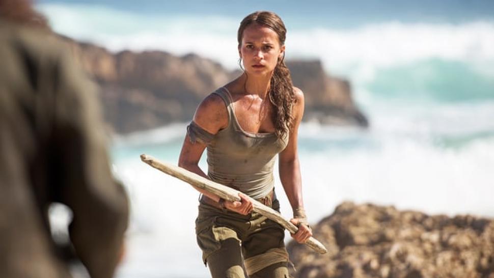 c05f573f8 Alicia Vikander Slays as Lara Croft in  Tomb Raider  Official Trailer --  Watch!