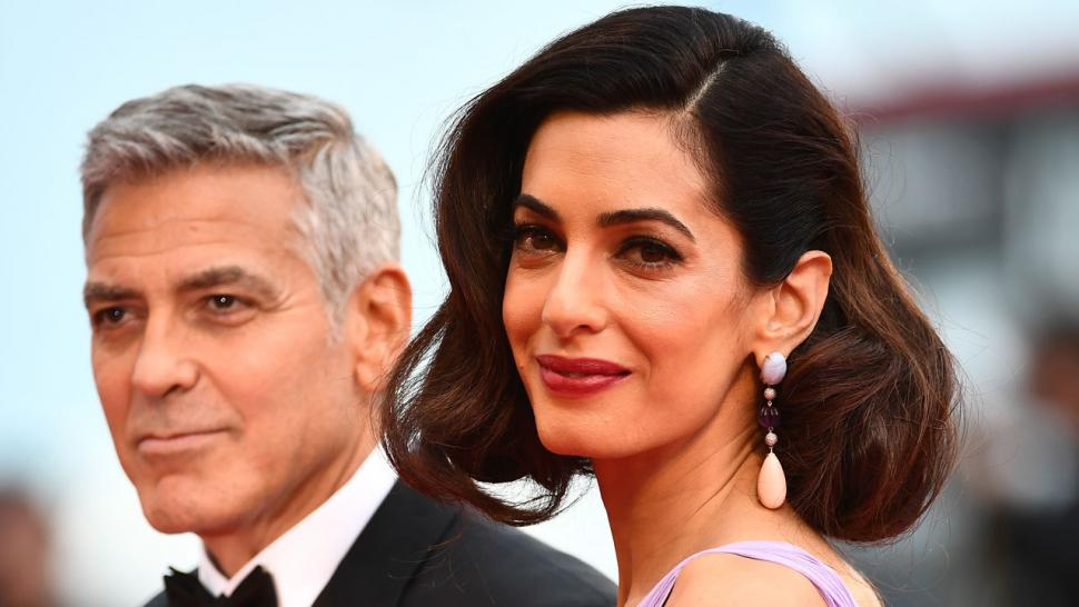 Amal Clooney and George Clooney at Venice Film Festival