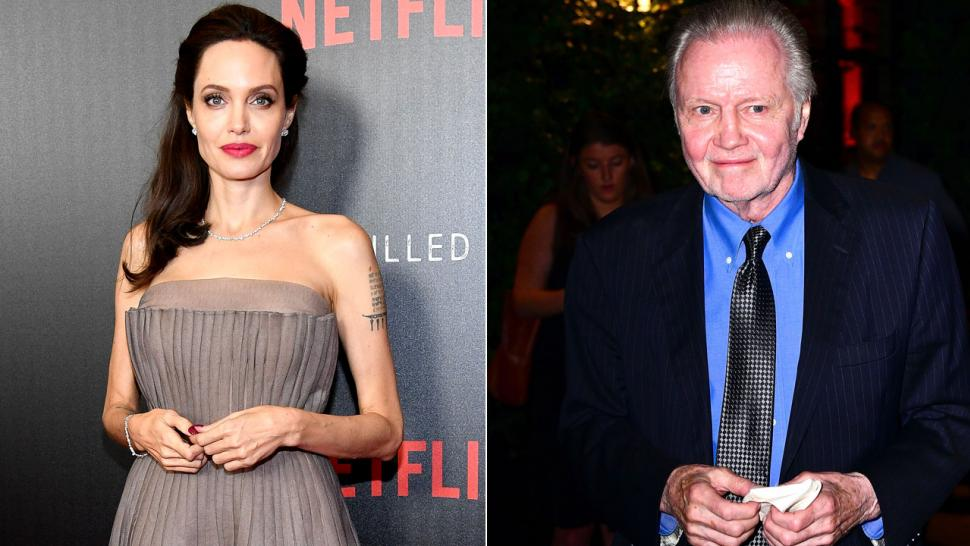 Angelina Jolie and Jon Voight at NYC premiere