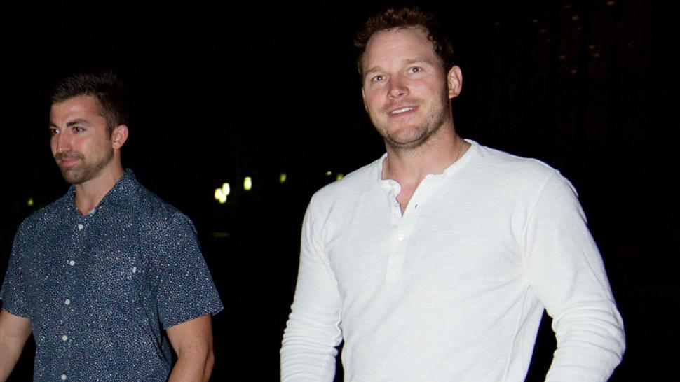 Chris Pratt goes to Justin Bieber's church