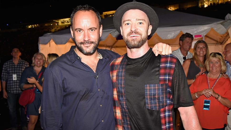 Dave Matthews and Justin Timberlake at A Concert for Charlottesville