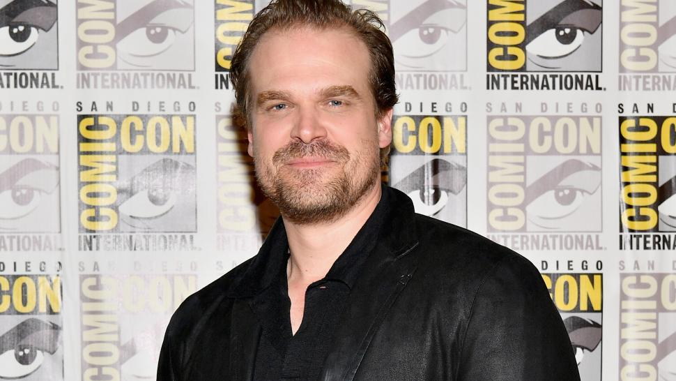 david harbour comic con