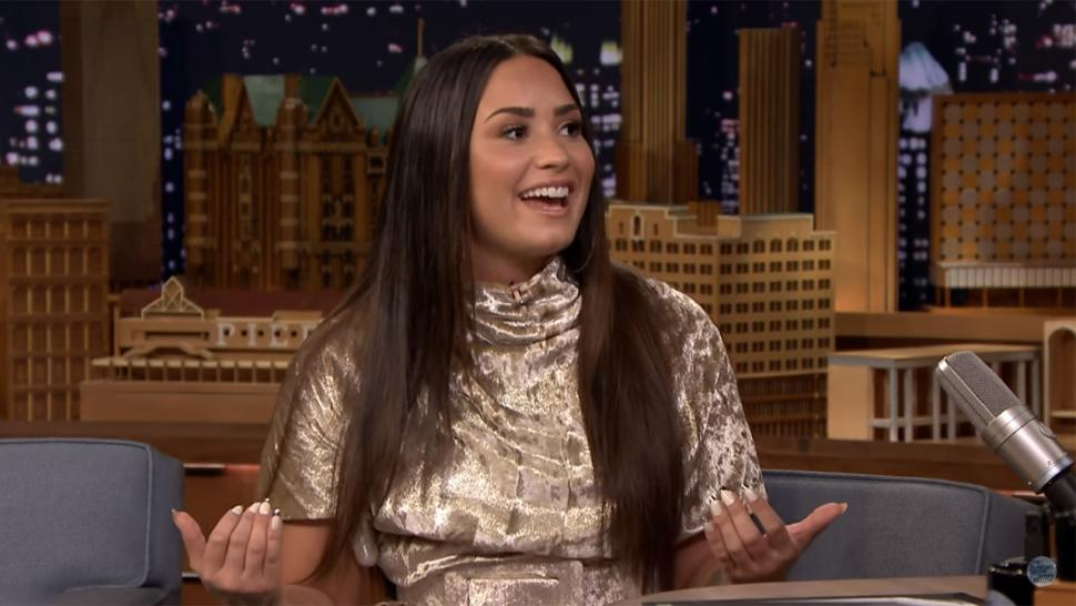 Demi Lovato on 'Tonight Show'