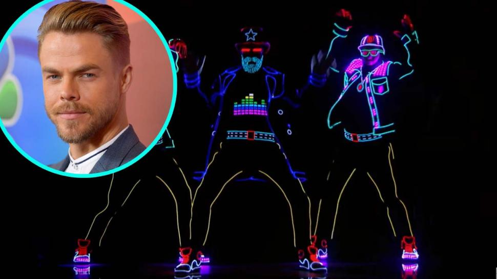 Derek Hough and Light Balance on 'AGT'