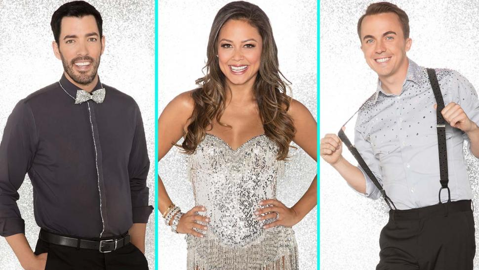 Drew Scott, Vanessa Lachey and Frankie Muniz on 'DWTS' Season 25