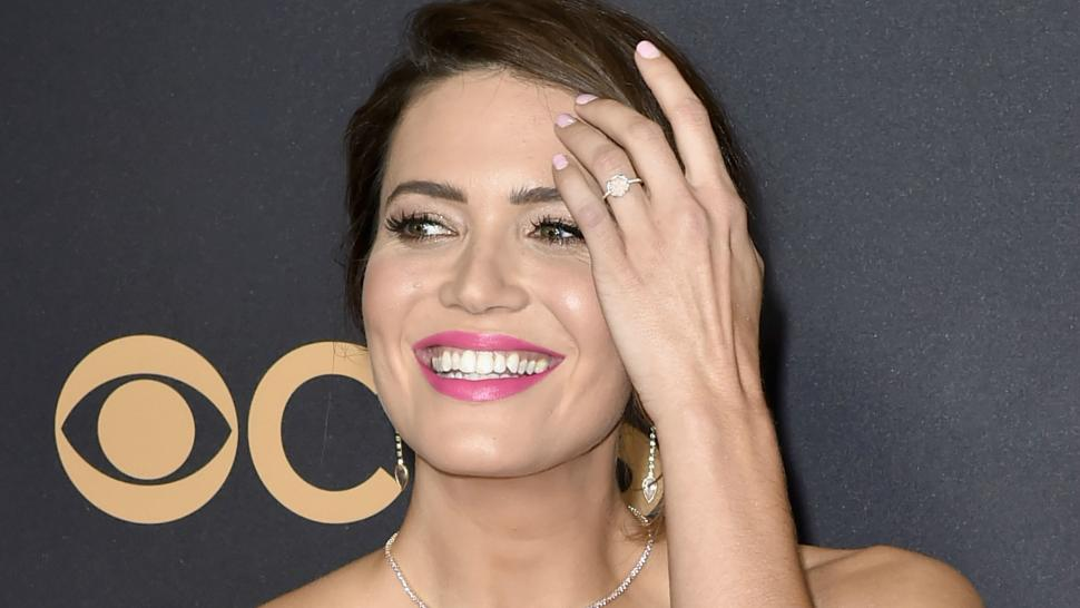 Risultati immagini per mandy moore engagement ring