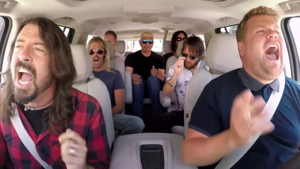 Foo Fighters on Carpool Karaoke