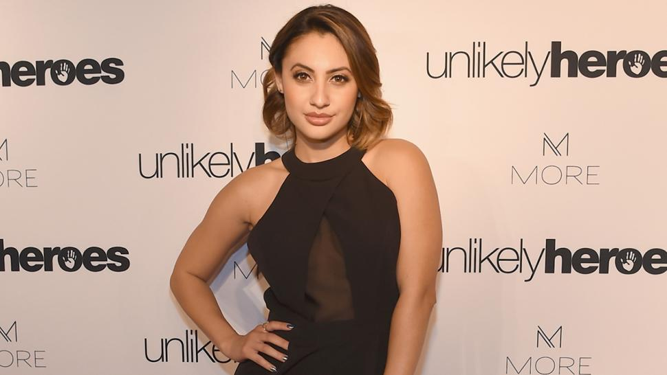 Francia Raisa shows off surgery scars