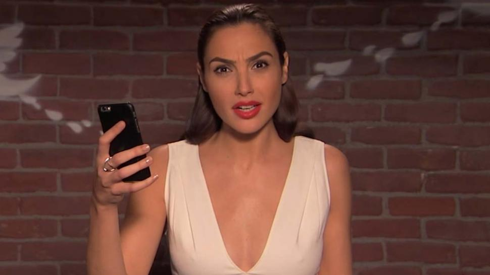 Gal Gadot in 'Mean Tweets'