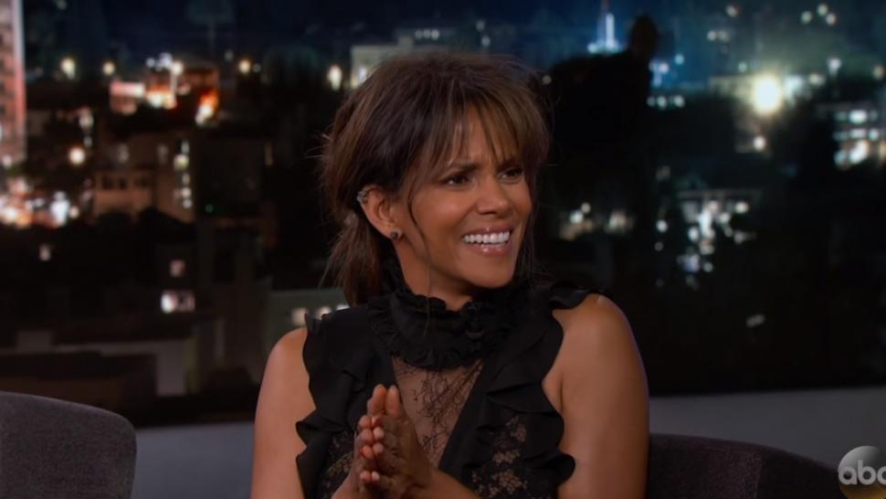 Halle Berry on 'Jimmy Kimmel Live!'